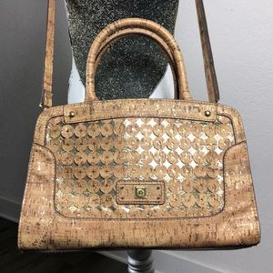ANNE KLEIN | Women's Bags | Cork Satchel | M/L